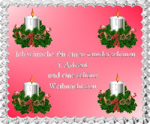 4 Advent Kostenlose Gästebuchbilder
