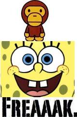 baby milo spongebob freak