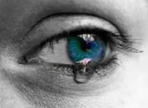 blaues Auge