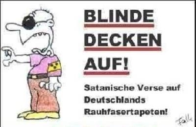 Blind decken auf