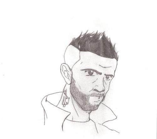 Bushido Zeichnung