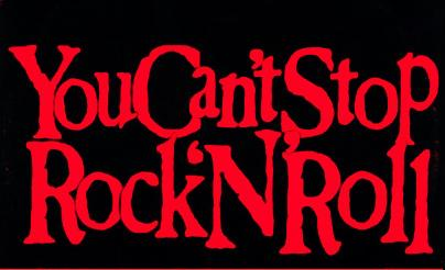 Cant stop rock n roll
