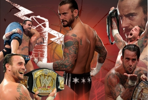 CM Punk Champion Wallpaper