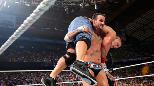 CM Punk Go to Sleep bei John Cena