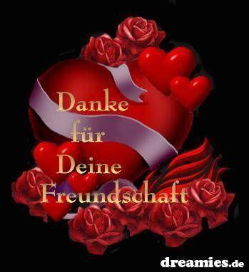 danke f. freundschaft