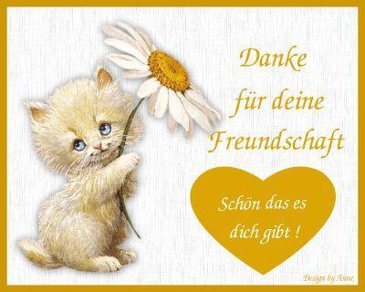 danke f.d. freundschaft