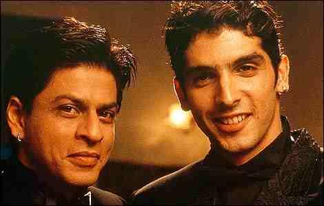 Das sind Shah Ruhk Kahn und Zayed Kahn