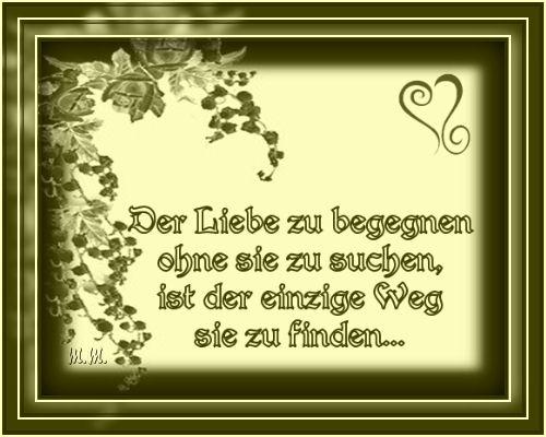 Der Liebe...