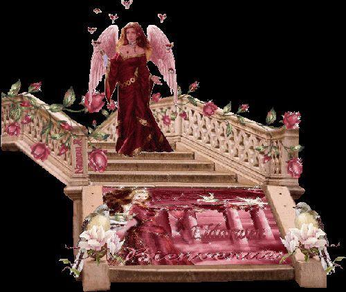 Frau auf der Treppe 3