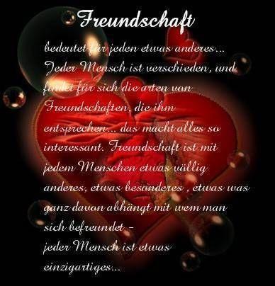 freundschaft bedeutet