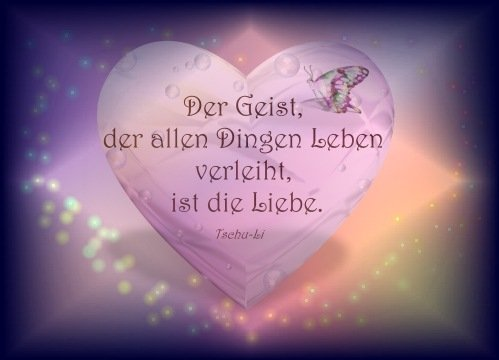 Geist und Liebe