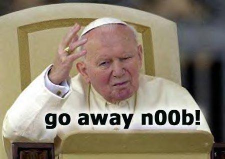 go away noob