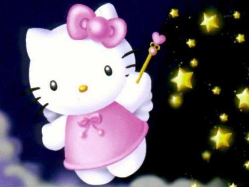 Hello Kitty Zauber Kostenlose Gästebuchbilder