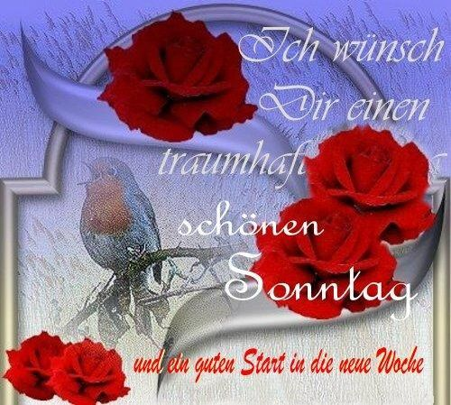 Schönen Sonntag Wünsche Ich Dir