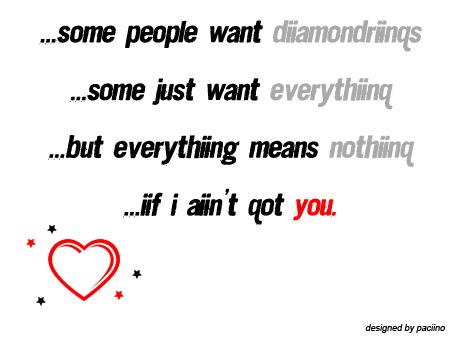 if i aint got you