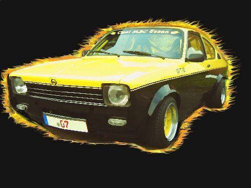 Kadett C Coupe GT E