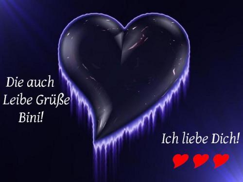 Love - Gruß an Bini!