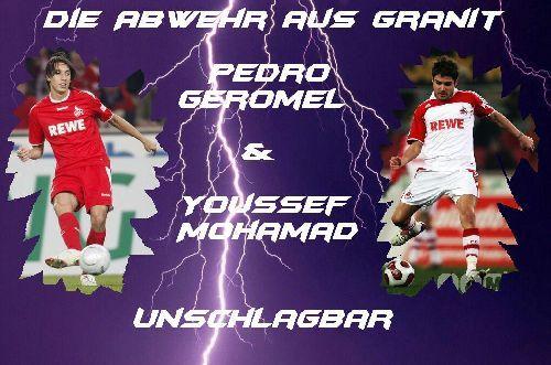 Pedro Geromel & Youssef Mohamad
