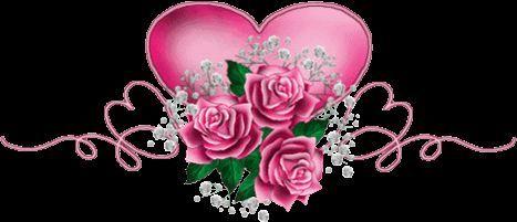 rosenband mit herzen
