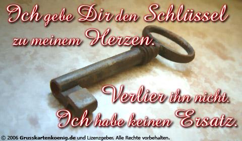 Großartig Schlüssel Zu Meinem Herzen