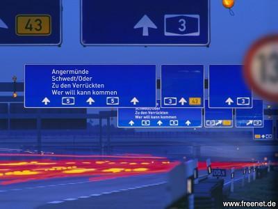 schwedt autobahn