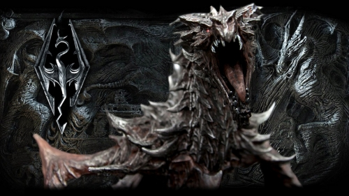 Skyrim Dragon Picture