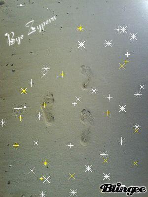Sterne im Sand