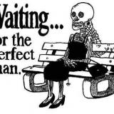 auf den perfekten mann warten