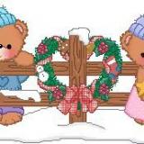 Bären am Zaun