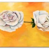 Gemalte Rosen