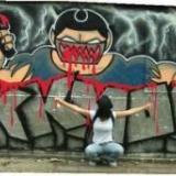 graffiti blokkmonsta