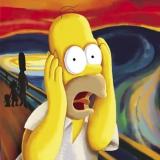 Homer der Schrei