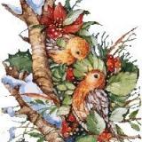 Hungrige Vögel