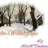 liebe wintergrüße