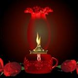 Rosen mit Licht