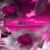 rosen+frau