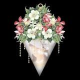 strauß in vase
