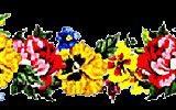 Trennlinie,Blumen