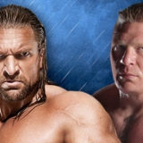 Triple H vs Lesnar