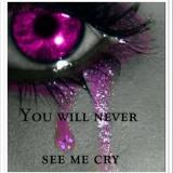 Weinen...