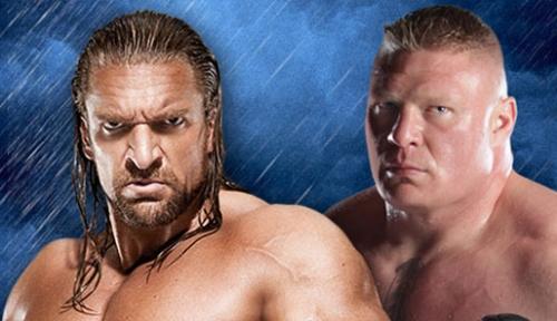 Triple H vs Lesnar