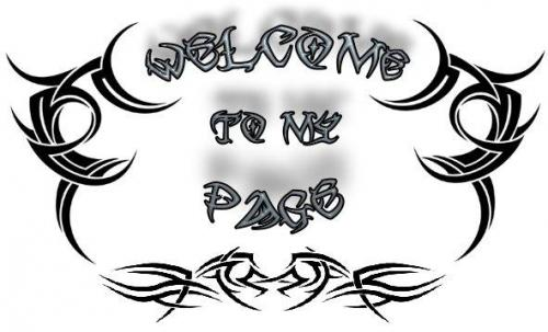 welcom of my page