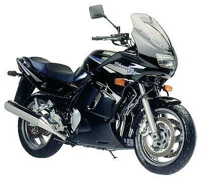 Yamaha Diversion 900 Bj 95