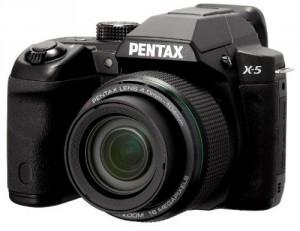 Superzoomkamera X-5 von Pentax ist auf den Markt