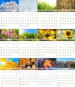Welche Arten von Fotokalender gibt es?